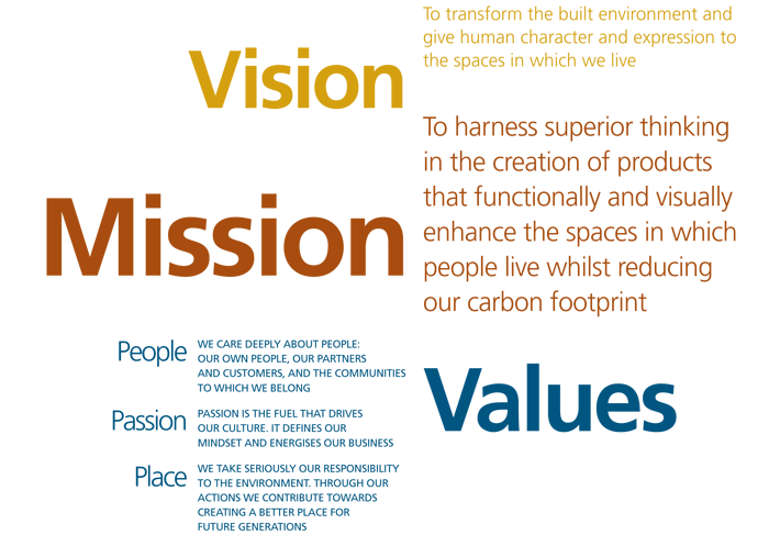 Our Mission Vision Banner